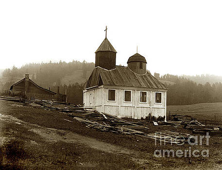 California Views Mr Pat Hathaway Archives - Fort Ross, Chapel October 5, 1917   Sonoma County