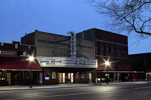 Fort Theatre - Kearney, Nebraska by Andrea Kelley