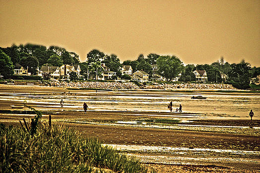 Fort Trumbull Beach Milford Ct by Frank Feliciano
