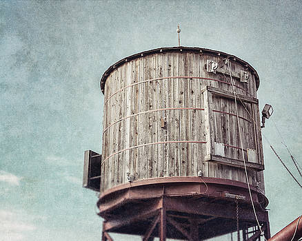 Fort Worth Stockyards Water Tower by Lisa Russo