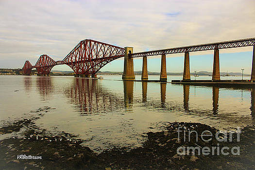 Forth Bridge Scotland by Veronica Batterson