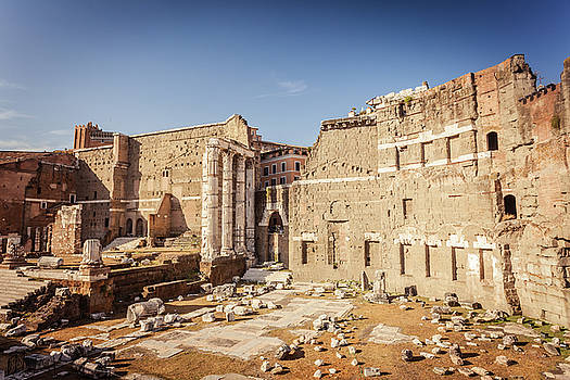 Forum of Augustus in Rome by Natalia Macheda
