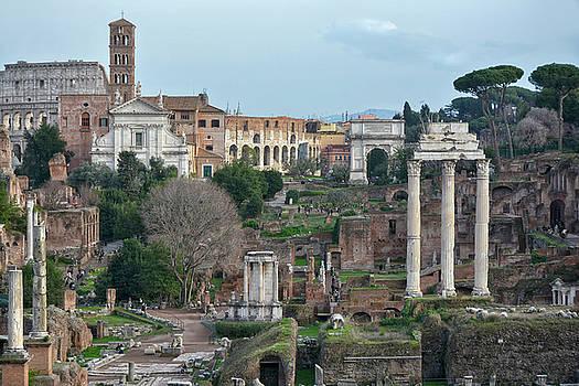 Forum Romanum 2 by Joachim G Pinkawa