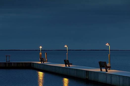 Foster Avenue Marina, Winter by Steve Gravano