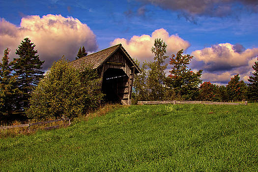Foster Covered Bridge Vermont by Jeff Folger