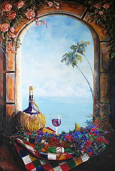 Foster's Window by Michele Hollister - for Nancy Asbell