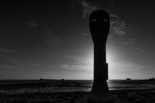 Foulney Island Shipping Light by Keith Elliott