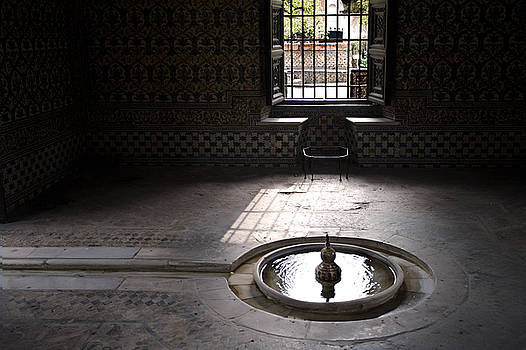 Fountain at Alcazar by Mark Wagoner