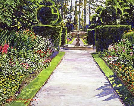 Fountain Green by David Lloyd Glover
