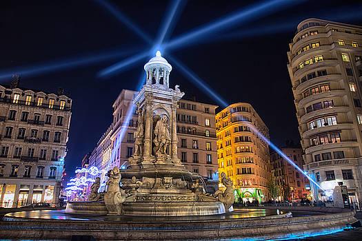 Fountain of Light  by Baptiste De Izarra