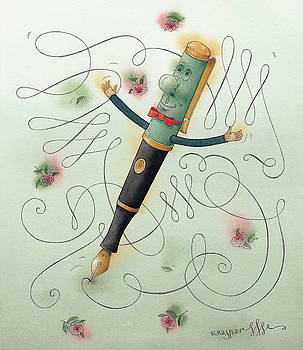 Kestutis Kasparavicius - Fountain-Pen
