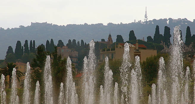 Fountains at Dawn by Rasma Bertz