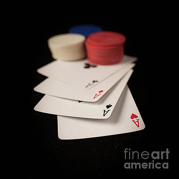 Four Aces Poker by Edward Fielding