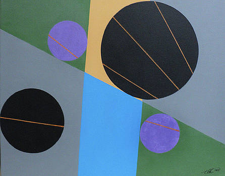 Four Circles II by Angelo Thomas