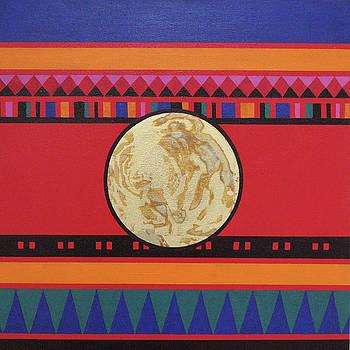 Four Corners - Seminole by Elaine Booth-Kallweit