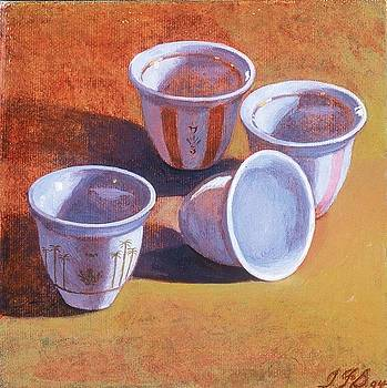 Four Cups by Yisehak Fikre-Sellassie