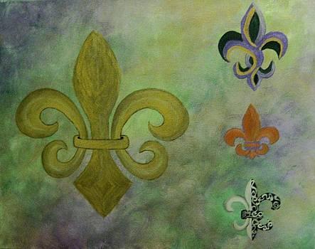Four De Lis by Veronica Trotter