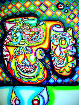 Four Faces by            Gillustrator