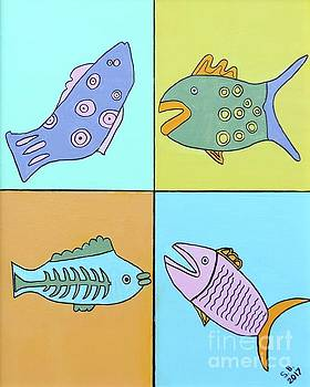 Artists With Autism Inc - Four Fish