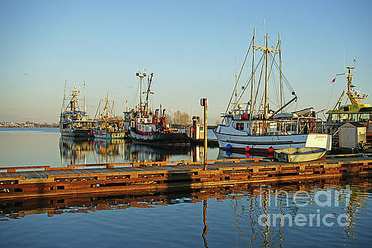 Four Fishing Boats by Randy Harris
