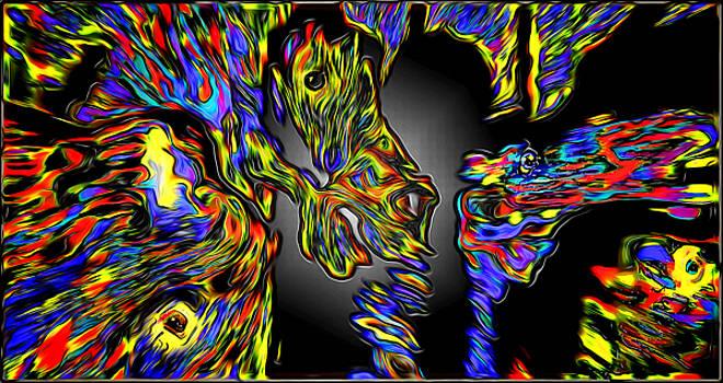 Joe Paradis - Four Hell Horses