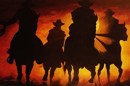 Four Horesman by Lelia DeMello