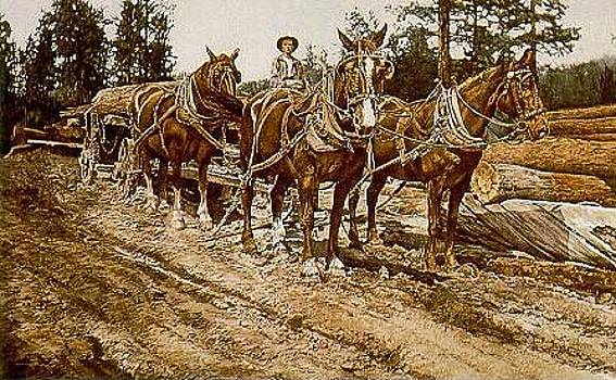 Four Horse Power by Judith Angell Meyer