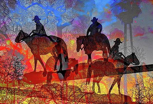 Four Horsemen by Visual Artist Frank Bonilla