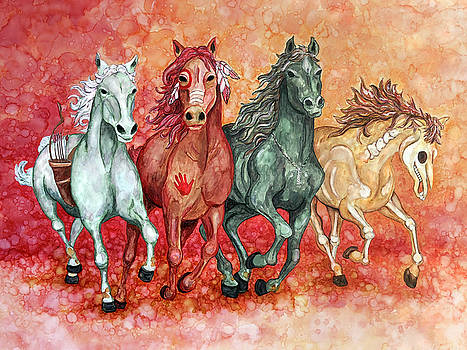 Four Horses of the Apocalypse by Jennifer Allison