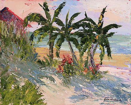 Four Palms by Jane Woodward