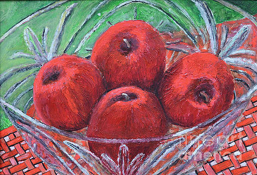 Four Red Apples by Richard Wandell
