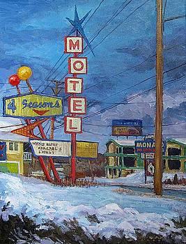 Four Seasons Motel by Dale Knaak