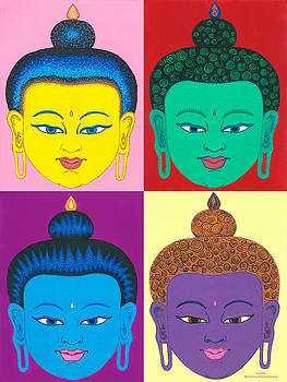 Four Seasons of Buddha by Michelle Darensbourg