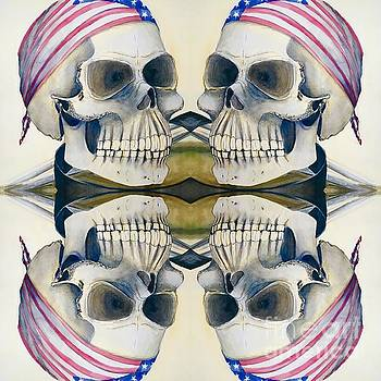 Four Skulls by Amy Brown