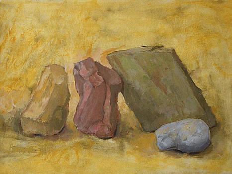 Four Stones by Alfons Niex