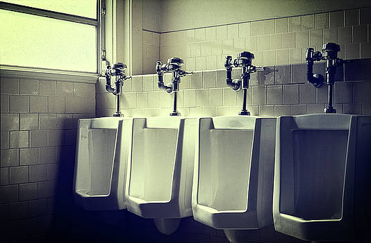 Four Urinals in a Row by YoPedro
