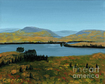 Fourth Lake from Rondaxe in Autumn by Robert Coppen