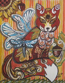 Fox Fairy by Kim Selig
