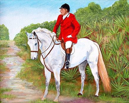 Pauline Ross - Fox Hunt on Remmington