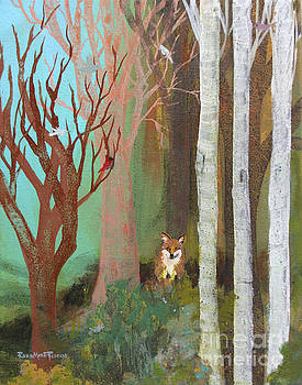 Fox in the Forest  by Robin Maria Pedrero