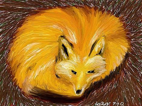 Fox by Lazar Caran