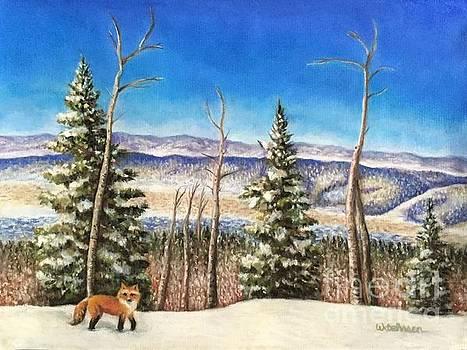Fox Trot by Wendy Koehrsen