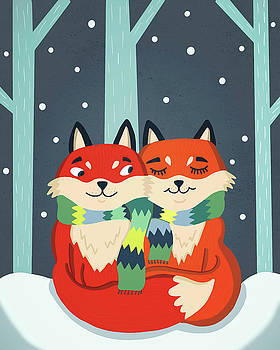 Foxes by Nicole Wilson