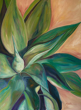 Foxtail Agave 4 by Athena  Mantle
