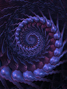 Fractal in the Bass Tones by Digital Art Cafe
