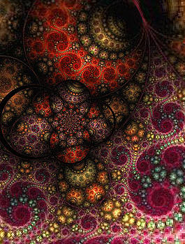 Fractal Insect by Digital Art Cafe