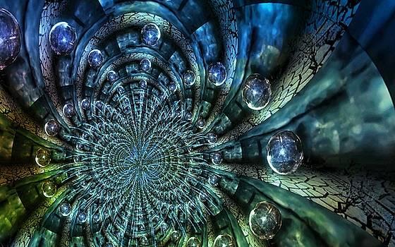 Fractal Planet by Digital Art Cafe