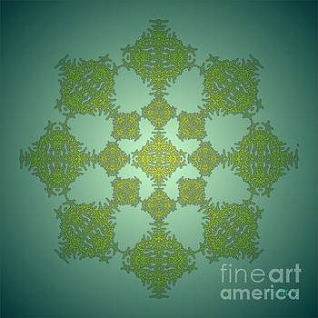 Fractal Tracery 1B by Walter Oliver Neal