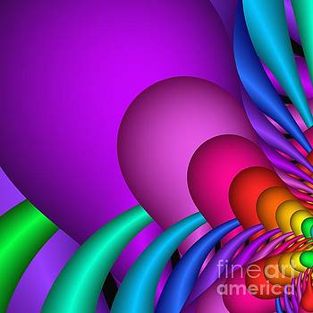 Fractalized Colors -1- by Issabild -