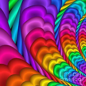 Fractalized Colors -10- by Issabild -
